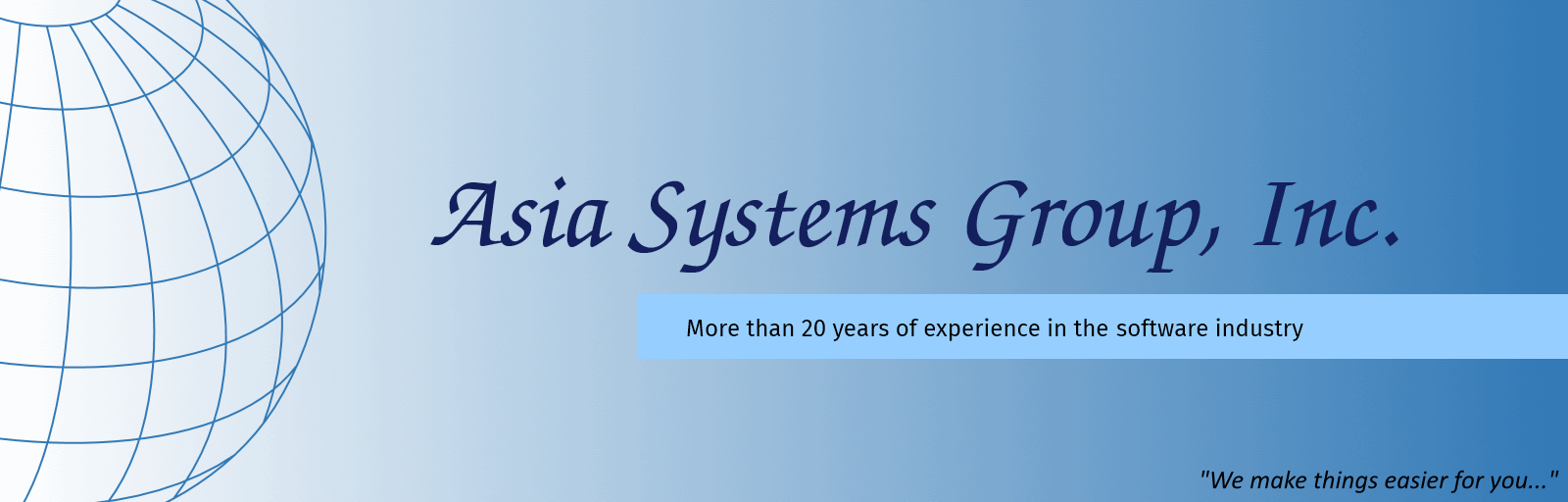 Asia Systems Group, Inc.